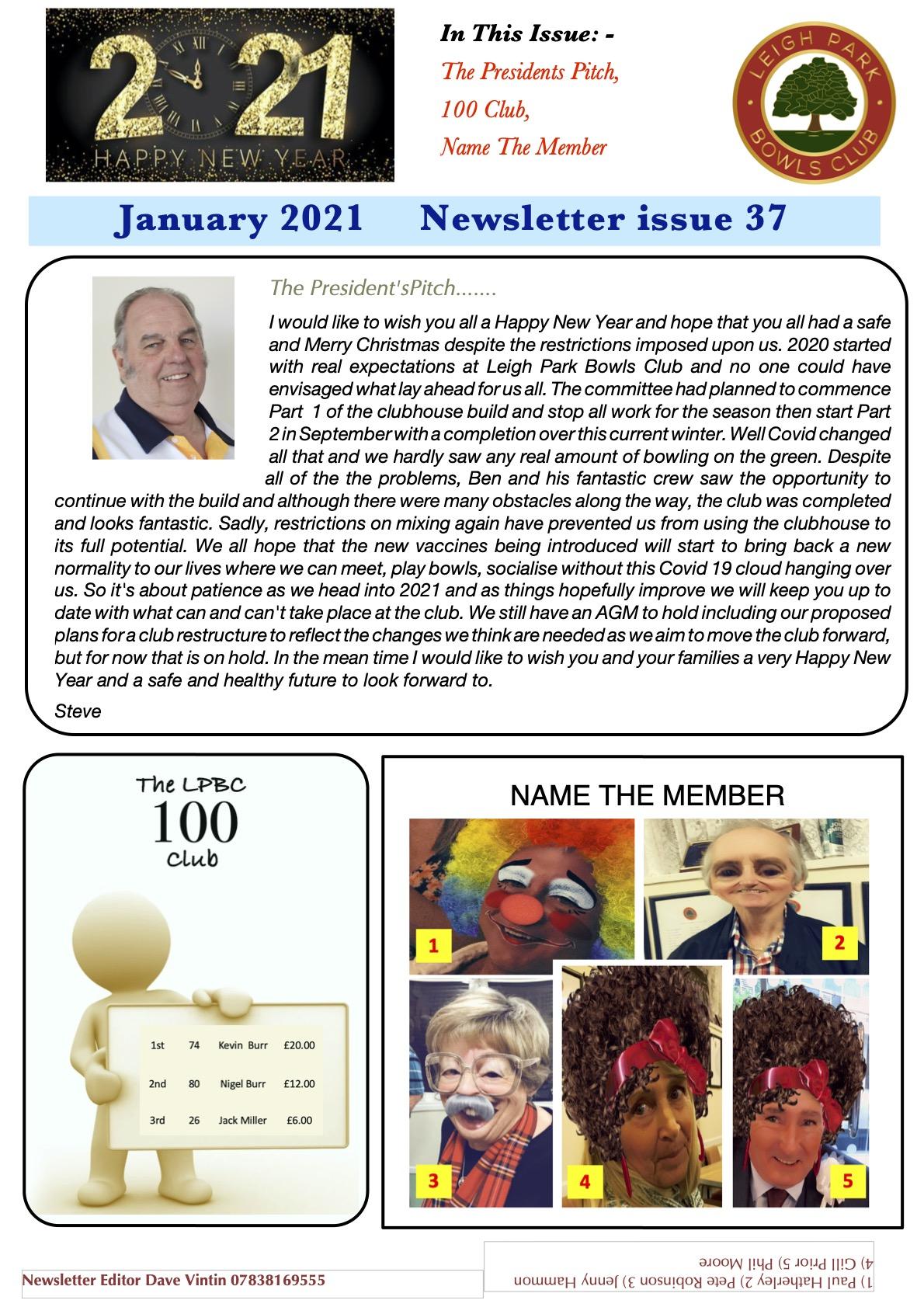 Newsletter 2021